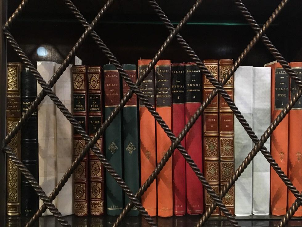 Morgan Library - books