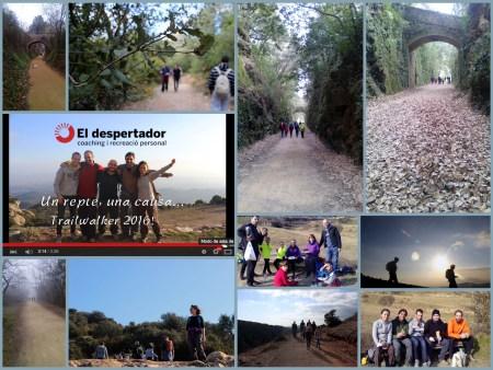 collage entrenament Trailwalker