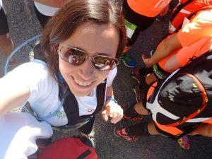 Elisabet Alguacil, a la sortida