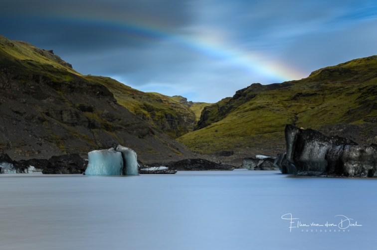 Een gletsjermeer