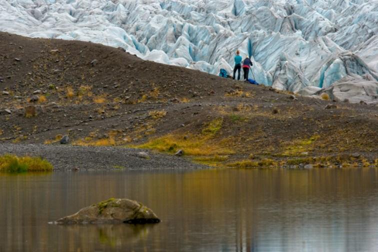 Fotograferen van een gletsjer