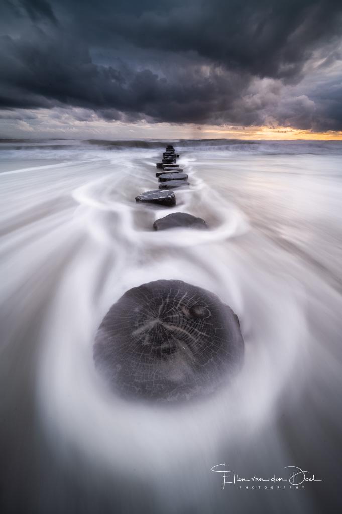 Palen tussen de golven