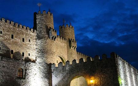 Castillo de Sigüenza, actual Parador Nacional