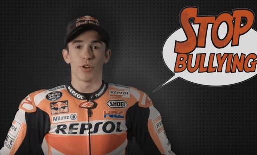 Repsol y su equipo de MotoGP dicen no al bullying