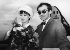 Godard And Karina In Berlin