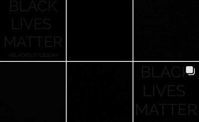 Blackout Tuesday τα Social Media γέμισαν μαύρο Ozon