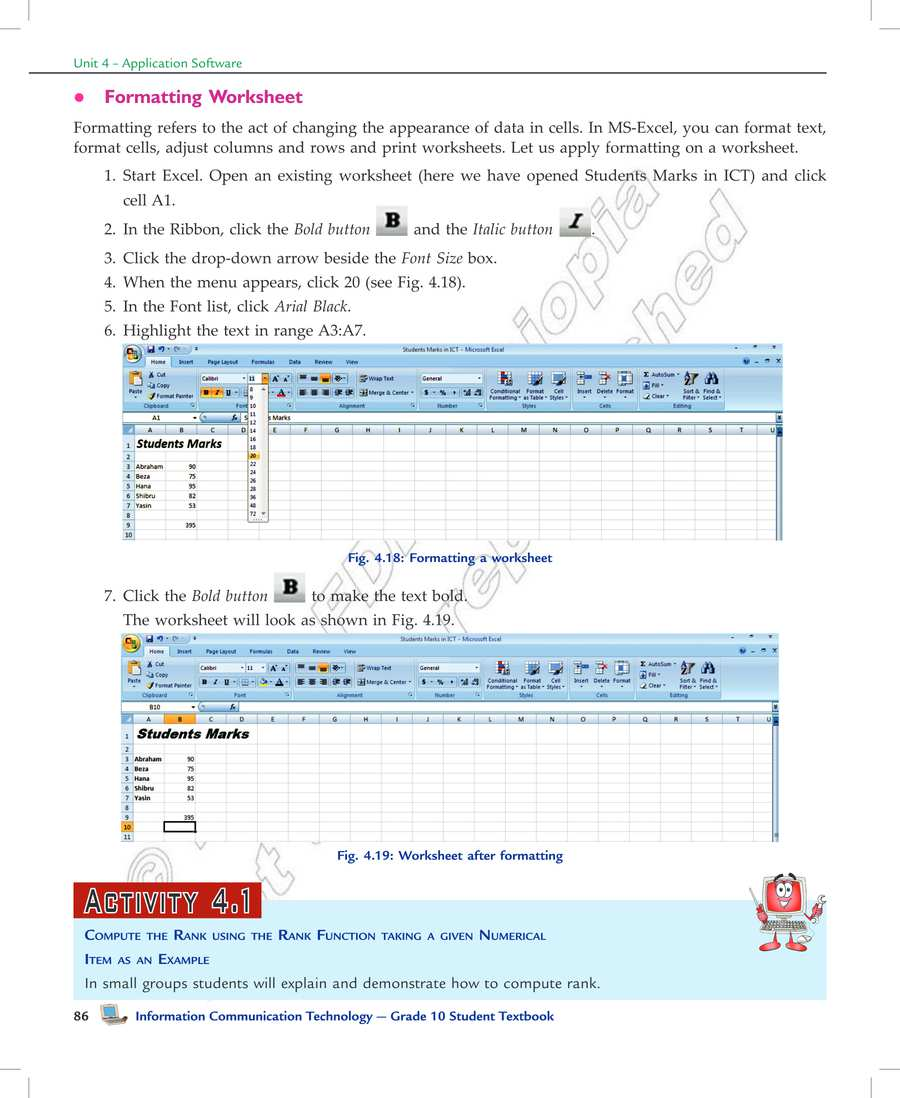 medium resolution of Ethiopia Learning - ICT grade 10 page 90 in English