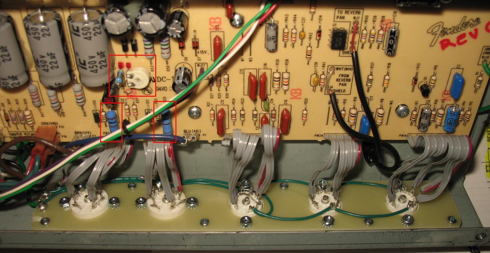 hight resolution of fender blue junior wiring diagram
