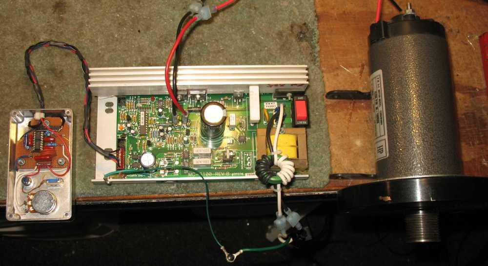 medium resolution of treadmill motor speed control