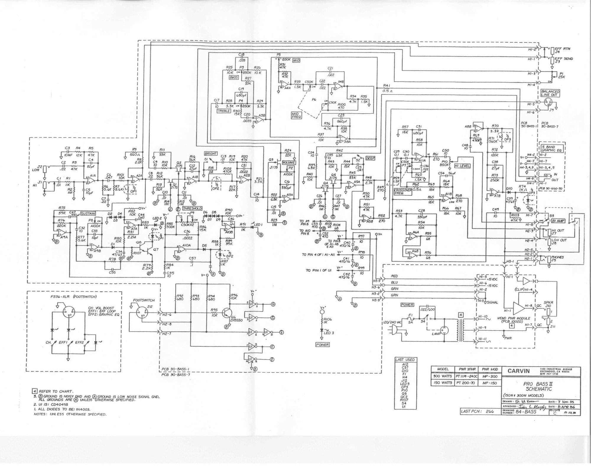 hight resolution of carvin schematics tube amp schematics carvin x100b advertisment 77 carvin probassii jpg 1576 kb
