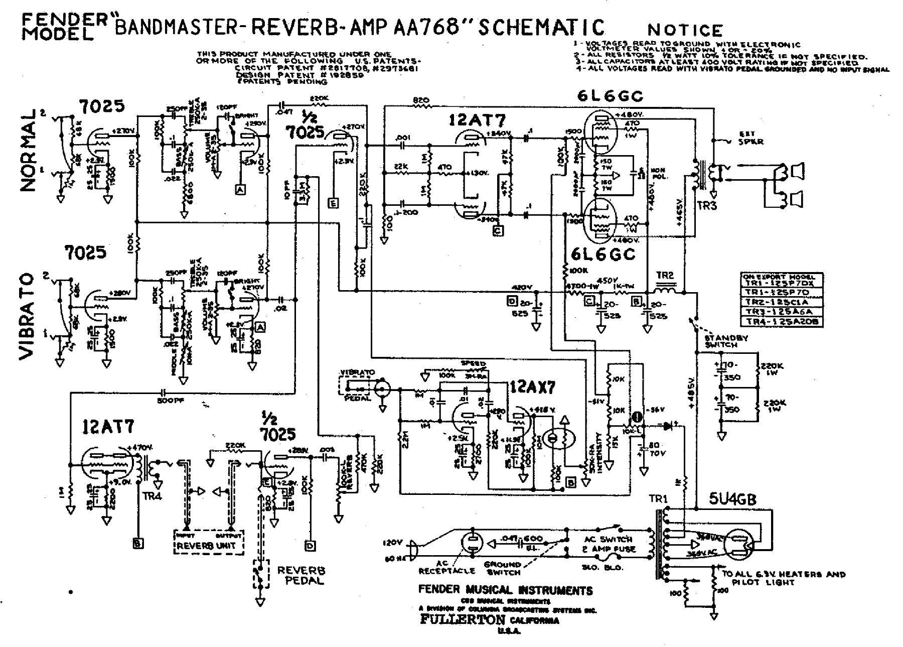hight resolution of fender schematics tube amp schematics rh el34world com 2010 fender diagramfor cobalt car fender diagram