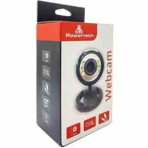 POWERTECH Web Camera PT-509 1.3MP, Plug & Play, μαύρη | Συνοδευτικά PC | elabstore.gr
