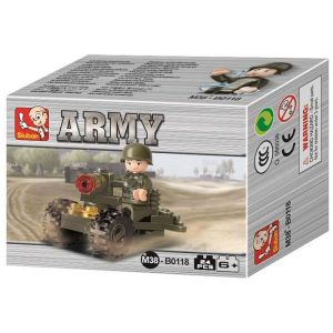 SLUBAN Τουβλάκια Army, Soldier M38-B0118, 24τμχ | Παιχνίδια | elabstore.gr