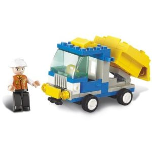 SLUBAN Τουβλάκια Town, Dump Truck M38-B0178, 65τμχ | Παιχνίδια | elabstore.gr