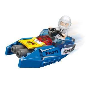SLUBAN Τουβλάκια Space, Space Jet M38-B0315, 48τμχ   Παιχνίδια   elabstore.gr