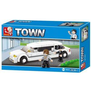 SLUBAN Τουβλάκια Town, Limousine M38-B0323, 135τμχ   Παιχνίδια   elabstore.gr