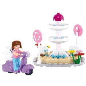 SLUBAN Τουβλάκια Girls Dream, Fountain M38-B0519, 79τμχ | Παιχνίδια | elabstore.gr
