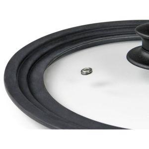 FLONAL Γυάλινο καπάκι με στεφάνι σιλικόνης για σκεύη 20/22/24cm | Οικιακές & Προσωπικές Συσκευές | elabstore.gr