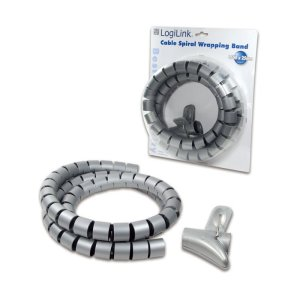 Cable Spiral Wrapping Band 1,5m Logilink KAB0014   NETWORKING ACCESSORIES   elabstore.gr