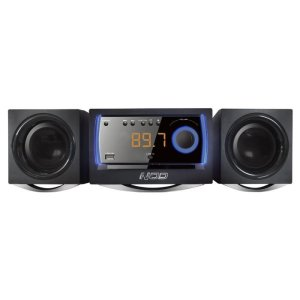 NOD BEAT Mini Hi-Fi System with CD,USB, bluetooth and Blue LED | ΕΙΚΟΝΑ / ΗΧΟΣ | elabstore.gr