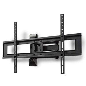"NEDIS TVWM1550BK Full Motion TV Wall Mount, 37-70"", Max 35 kg, 3 Pivot Points | ΕΙΚΟΝΑ / ΗΧΟΣ | elabstore.gr"