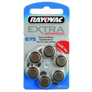RAYOVAC μπαταρίες ακουστικών βαρηκοΐας 675MF, mercury free, 1,45V, 6τμχ | Μπαταρίες | elabstore.gr