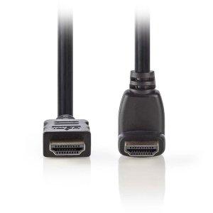 NEDIS CVGP34210BK15 High Speed, HDMI Connector - HDMI Connector 270° Angled, 1.5   ΚΑΛΩΔΙΑ / ADAPTORS   elabstore.gr