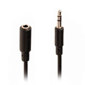 NEDIS CAGP22050BK20 Stereo Audio Cable, 3.5 mm Male - 3.5 mm Female, 2m, Black   ΚΑΛΩΔΙΑ / ADAPTORS   elabstore.gr