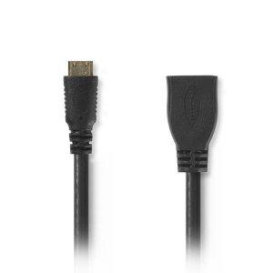 NEDIS CVGP34590BK02 High Speed HDMI Cable with Ethernet HDMI Mini Connector-HDMI   ΚΑΛΩΔΙΑ / ADAPTORS   elabstore.gr