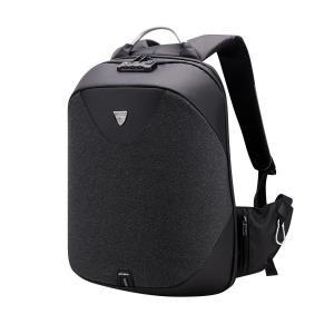 ARCTIC HUNTER τσάντα πλάτης B00208-BK με θήκη laptop, αδιάβροχη, μαύρη | Οικιακές & Προσωπικές Συσκευές | elabstore.gr