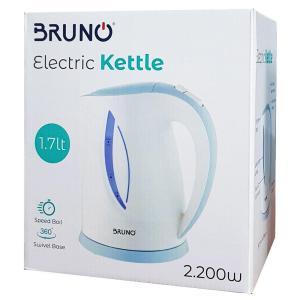 BRUNO Ηλεκτρικός βραστήρας BRN-0002, 2200w, 1.7lt, βάση 360°, LED   Οικιακές & Προσωπικές Συσκευές   elabstore.gr