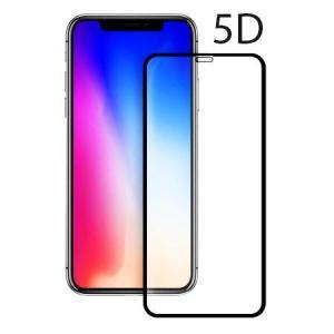 POWERTECH Tempered Glass 5D Full Glue για iPhone XS, Black   Αξεσουάρ κινητών   elabstore.gr