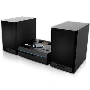 NOD STAGE Mini Hi-Fi System with CD,USB, Bluetooth, FM and  blue LED, 50W | ΕΙΚΟΝΑ / ΗΧΟΣ | elabstore.gr