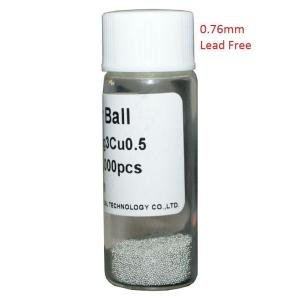 Solder Balls 0.76mm, Lead Free, 12.5k | Service | elabstore.gr