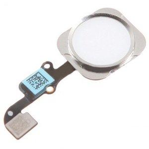 Καλώδιο Flex Home button και fingerprint για iPhone 6 plus, Silver   Service   elabstore.gr