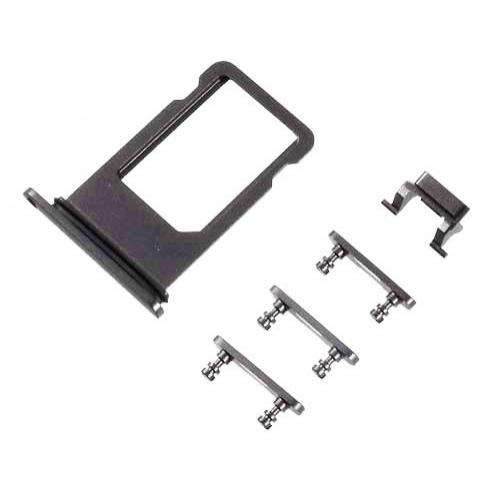 Υποδοχή κάρτας SIM και Side Button για iPhone 8, μαύρο | Service | elabstore.gr