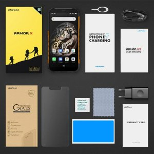 "ULEFONE Smartphone Armor X5, IP68/IP69K, 5.5"", 3/32GB, Octa-core, μαύρο | Mobile Συσκευές | elabstore.gr"
