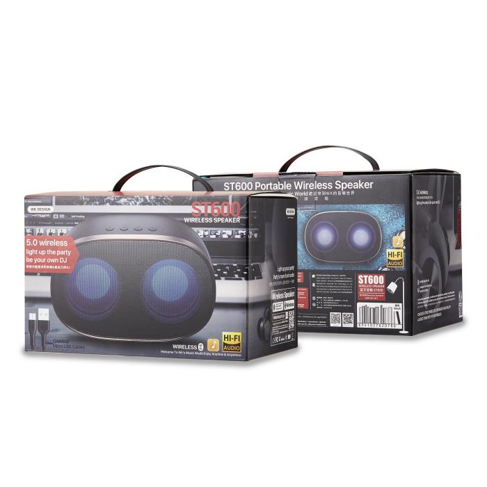 Speaker BT WK ST600 White   PORTABLE SPEAKERS   elabstore.gr