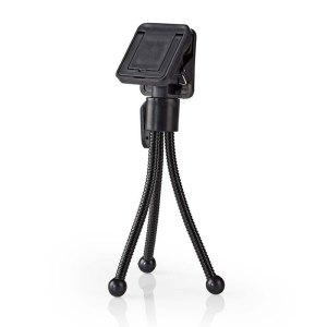 NEDIS SMTD100BK Smartphone Mini Tripod 15.8 cm Black 4   SMARTPHONES & TABLETS ACCESSORIES   elabstore.gr