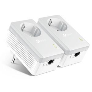TP-LINK AV600 Passthrough Powerline Starter Kit TL-PA4010P, Ver. 4.0 | Δικτυακά | elabstore.gr