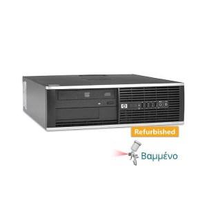 HP 8000 SFF C2D-E8400/4GB DDR3/250GB/DVD/7P Grade A Refurbished PC | ELABSTORE.GR