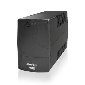 UPS 850VA Well LINE INTERACTIVE UPS-LINT-STARK850-WL | ELABSTORE.GR