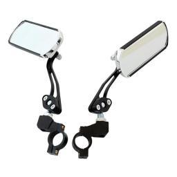Καθρέφτης ποδηλάτου RW16A, μεταλλικός, μαύρος, 2τμχ   Gadgets   elabstore.gr
