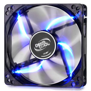 DEEPCOOL WINDBLADE 120 BLUE COOLING FAN 120mm  LED | ΥΠΟΛΟΓΙΣΤΕΣ / ΑΝΑΒΑΘΜΙΣΗ | elabstore.gr