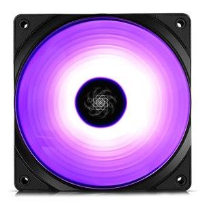 DEEPCOOL CF120 SINGLE RGB COOLING FAN 120mm BLACK | ΥΠΟΛΟΓΙΣΤΕΣ / ΑΝΑΒΑΘΜΙΣΗ | elabstore.gr