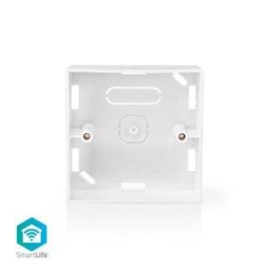NEDIS WIFIWB10WT Back Box Surface Mounting 86 x 86 mm White | ΔΙΚΤΥΑΚΑ / SMART HOME | elabstore.gr