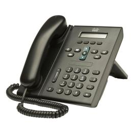 CISCO used Unified IP Phone CP-6921-C-K9, Black | Εξοπλισμός IT | elabstore.gr