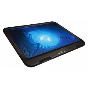 "POWERTECH Βάση & ψύξη laptop PT-740 έως 15.6"", 125mm fan, LED, μαύρο | Αξεσουάρ για Laptop | elabstore.gr"