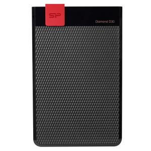 SILICON POWER Εξωτερικός HDD 1TB Diamond D30 D3S, USB 3.1, Black   PC & Αναβάθμιση   elabstore.gr