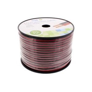 Καλώδιο Ηχείου Well 100m 2x2.50mm2 CCA Μαύρο/κόκκινο LSP-CCA2.50BR-100-WL   Ήχου & Εικόνας   elabstore.gr